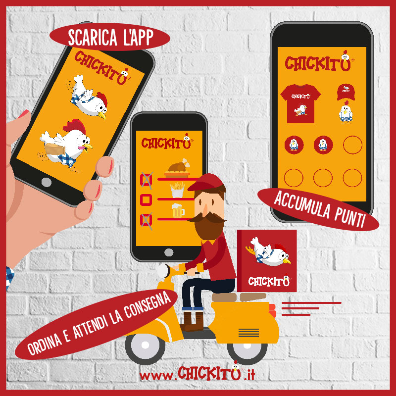 app chickito franchising pollo a domicilio