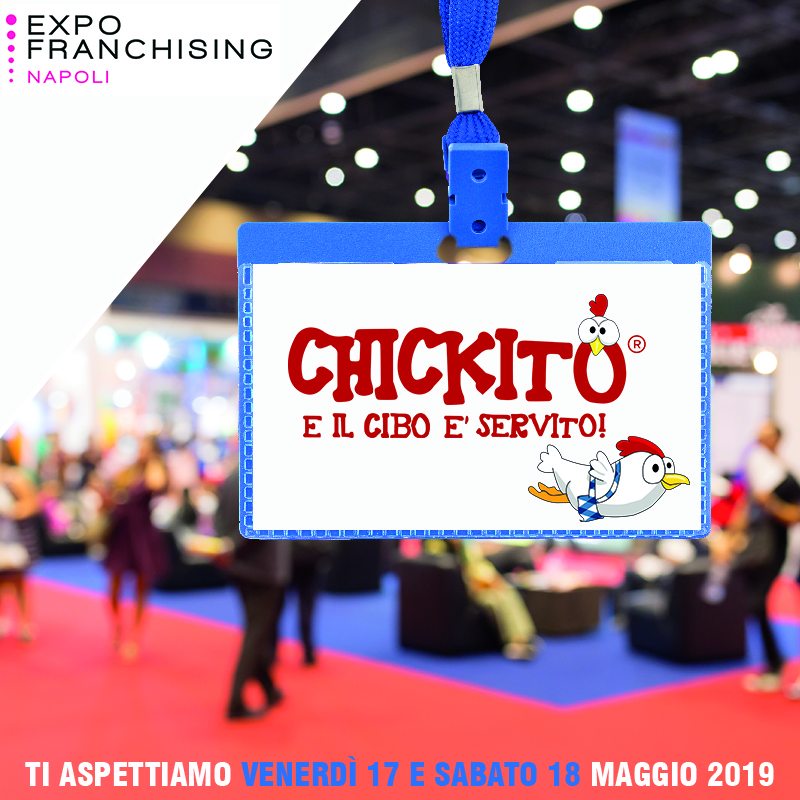 expo franchising napoli app chickito food delivery