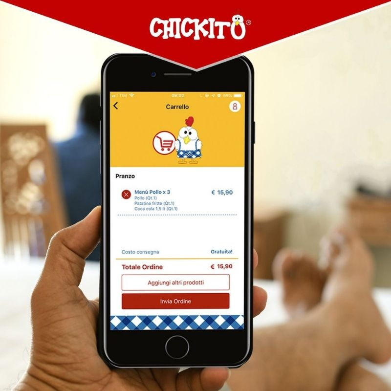 food delivery chickito franchising